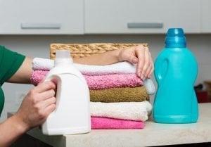 limpiar con suavizante