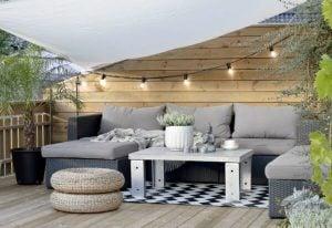 muebles en terrazas
