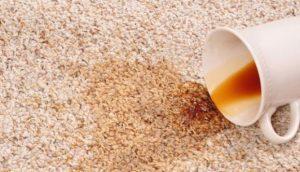 limpieza en alfombra