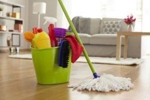 limpiar pisos de cerámica