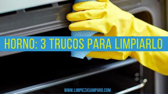 3 trucos para limpiar el horno protada