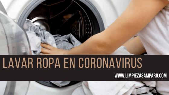 lavar ropa en coronavirus portada