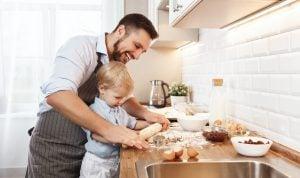 cocina en familia