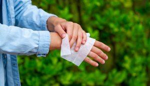 hacer desinfectante casero toallas