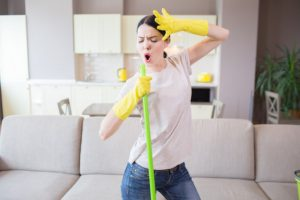 Música en limpieza
