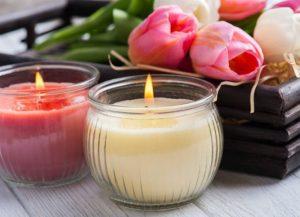 velas aromatizantes