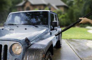 hidrolavdora para el auto