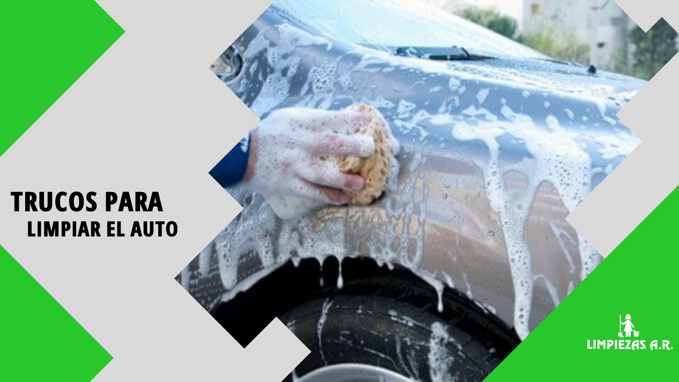 trucos para limpiar el auto