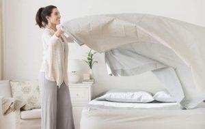 Limpieza dormitorio colchón